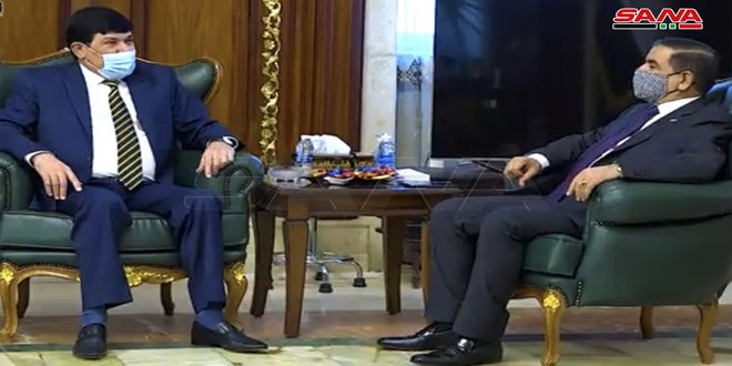 Syria, Iraq discuss means to enhance bilateral relations