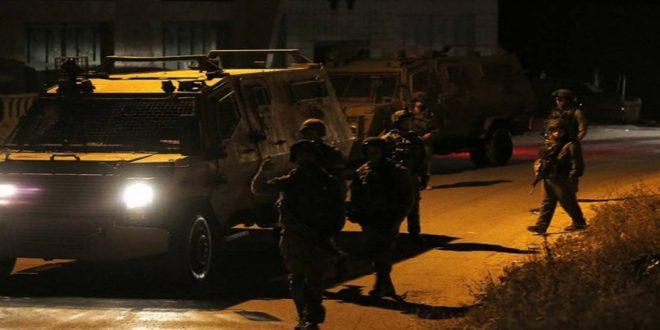 بازداشت 13 فلسطینی در کرانه باختری توسط نظامیان صهیونیست