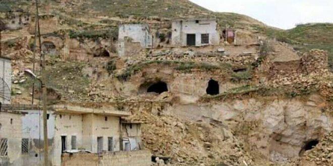Le village de Lattamena dans la banlieue de Hama, résidé depuis plus d'un million d'années
