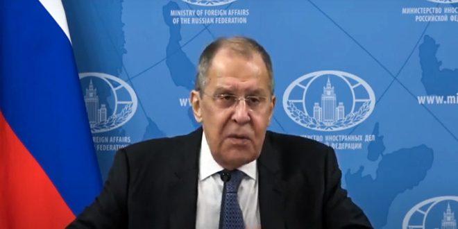 Lavrov: Washington et ses alliés se sont servis de la pandémie de coronavirus pour exercer davantage de pressions sur certains pays