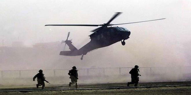 כוחות הכיבוש האמריקני העבירו 70 טרוריסטים מדאעש לאזור אלתנף