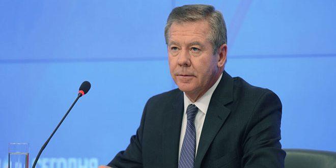 غاتيلوف: الجولة الجديدة من اجتماعات لجنة مناقشة الدستور السورية ستعقد في أقرب وقت