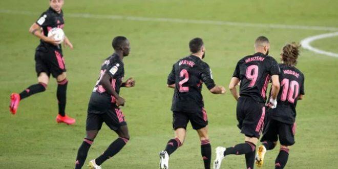 فوز ريال مدريد على بيتيس بالدوري الإسباني لكرة القدم