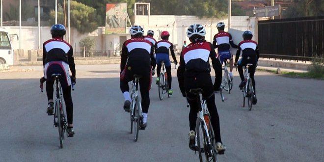 انطلاق مسير الدراجات الهوائية من دير الزور إلى القرداحة
