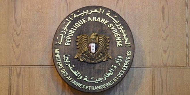 سورية تدين بشدة الممارسات العدوانية لقوات الاحتلال الأمريكي في الجزيرة وتطالب مجدداً بانسحابها الفوري وغير المشروط من أراضيها