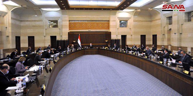 مجلس الوزراء يوافق على انضمام سورية لمبادرة كوفاكس عبر منظمة الصحة العالمية لتأمين لقاح كورونا
