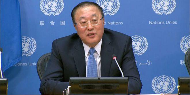 الصين تدعو إلى إلغاء الإجراءات القسرية الغربية أحادية الجانب ضد سورية