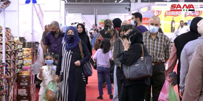 إقبال شعبي واسع على معرض (صنع في سورية) في بغداد