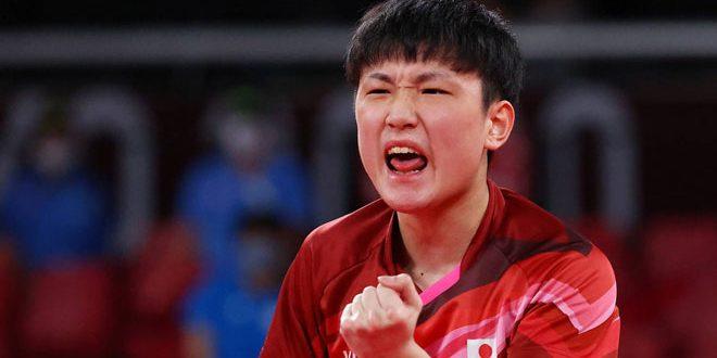 اليابان تفوز على السويد في منافسات كرة الطاولة لفرق الرجال بأولمبياد طوكيو